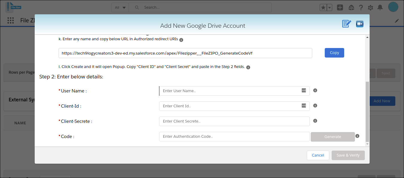 Enter your OneDrive username