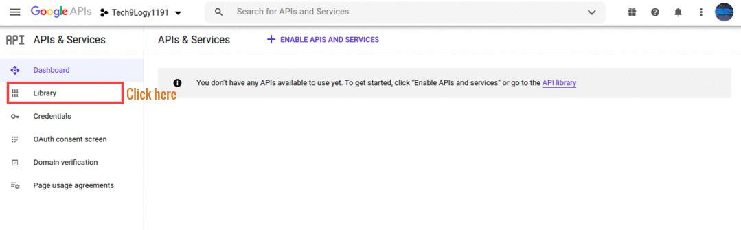 Goto API & Services