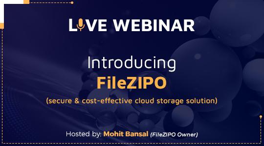 Webinar - Intro of File ZIPO