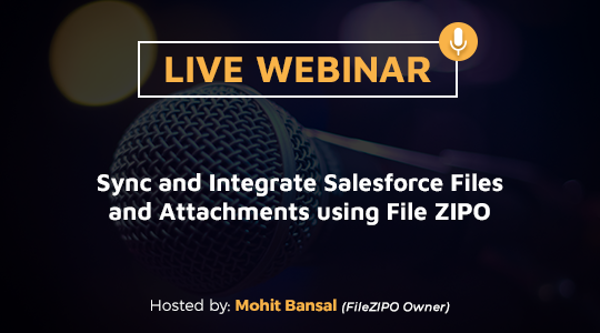 Sync and Integrate Salesforce Files and Attachments using File ZIPO