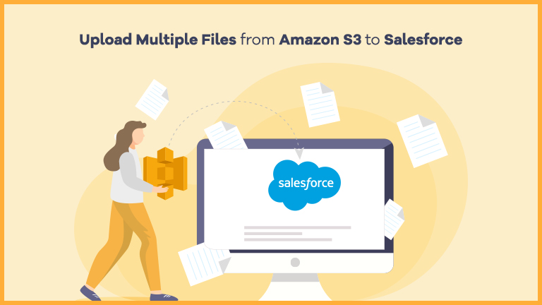 Transfer multiple Files from Amazon S3 to Salesforce