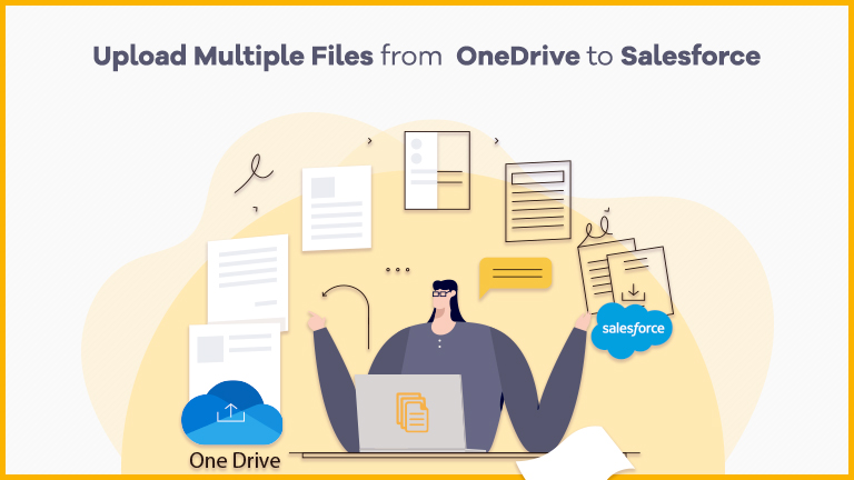Upload multiple Files from OneDrive to Salesforce