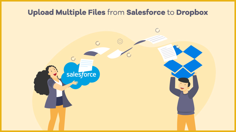 Upload multiple Files from Salesforce to dropbox