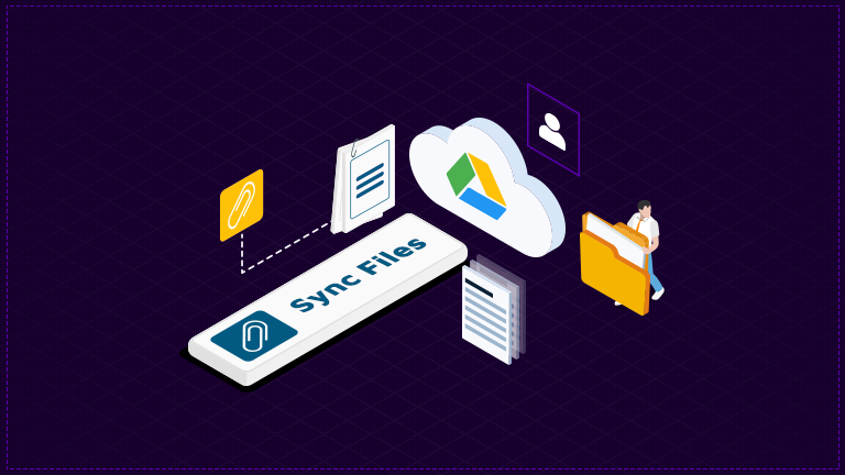 How to Manual-Sync multiple Files across Salesforce and Google Drive accounts