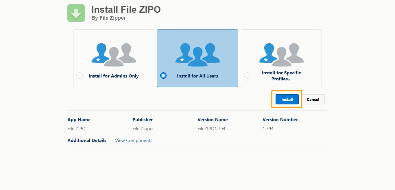 Successful login to Salesforce