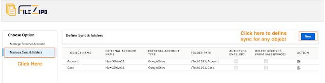 Manage External Accounts